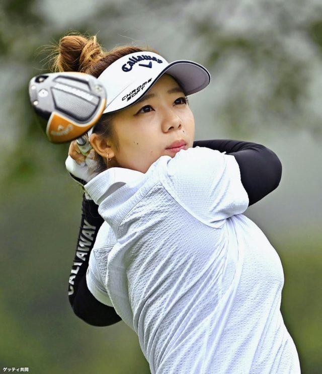 女子プロゴルファー田中瑞希