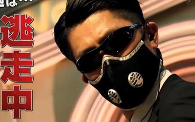 逃走中のハンターマスクが話題!