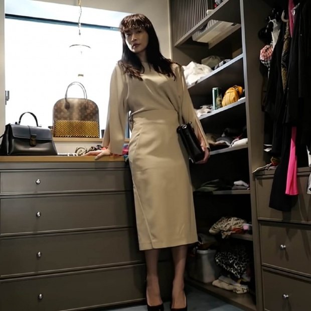 長谷川京子の学校行事ファッション