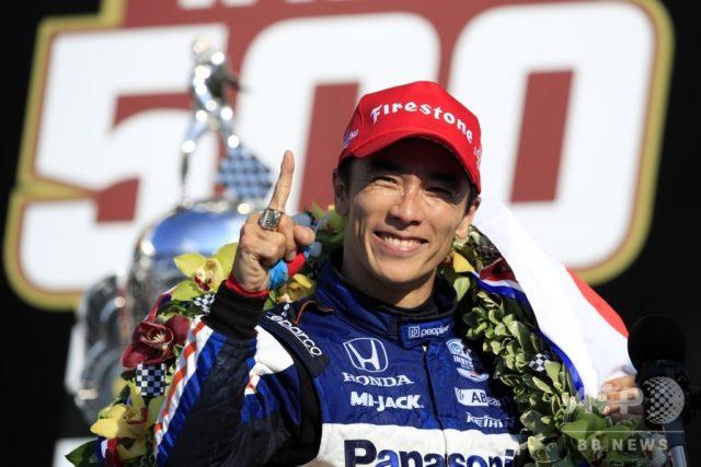 佐藤琢磨インディ500で3年ぶり2度目の優勝